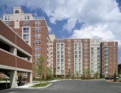 Exterior shot of the buildings at Cloverlead Apartments