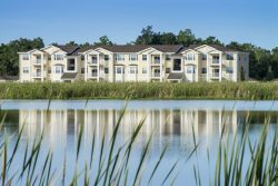 Exterior view of the Ranch Lake apartments in Bradenton, Florida