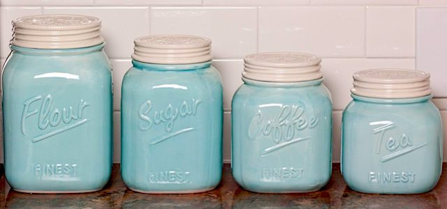 kitchen mason jars