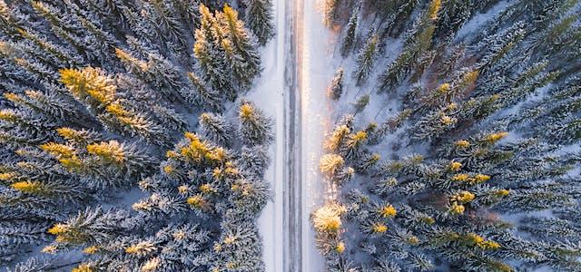 Romantic Winter Getaways In New England Forest Properties Blog